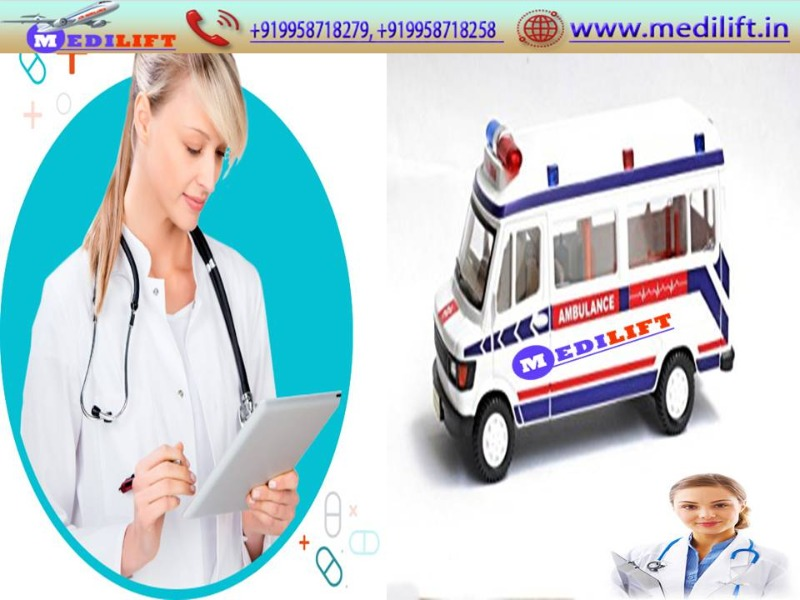 Now Easily Book Ambulance Service in Muzaffarpur with Doctor Team in Patna listed under Services - Healthcare / Fitness