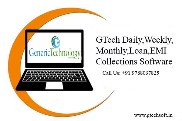 GTech Daily Weekly Monthly Loan EMI Collections Software in  listed under Services - Computer / Web Services