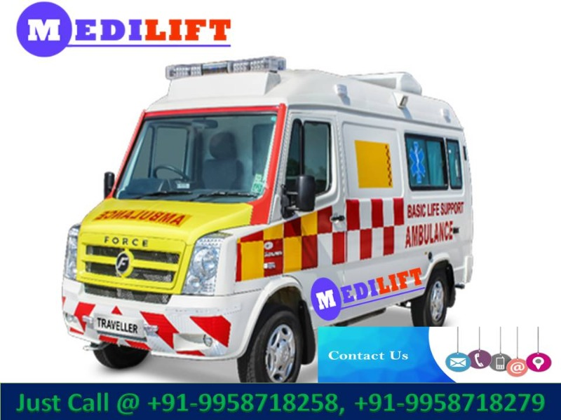 Get the Complete Medical Road Ambulance Service in Madhubani in  listed under Services - Healthcare / Fitness