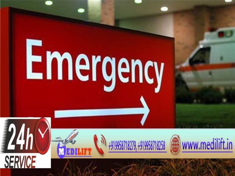 Best and Low-Cost Ambulance Service in Buxar by Medilift in  listed under Services - Healthcare / Fitness