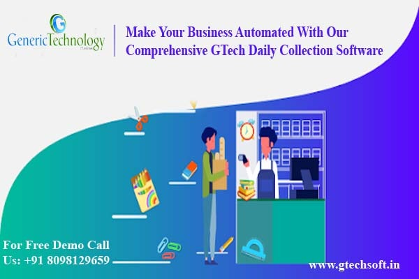 Automated Comprehensive Gtech Daily Collection Software in  listed under Services - Computer / Web Services