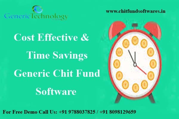 Time Savings & Cost Effective Generic Chit Fund Software in  listed under Services - Computer / Web Services