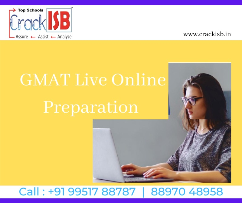 GMAT Live Online Program by ISB Alumni-Free Application Support in  listed under Education - Training Centers