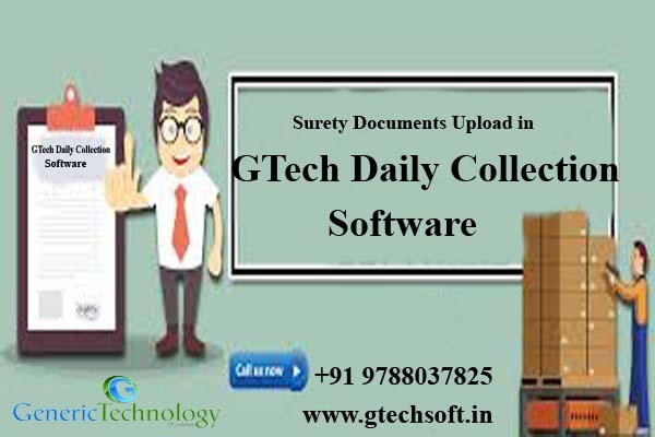 Surety Documents Upload in Gtech Daily Collection Software in  listed under Services - Computer / Web Services
