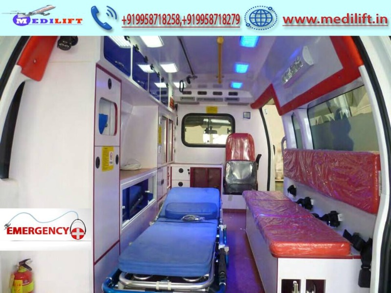 Get the Complete Ambulance Service in Gaya: The Reliable and Fast in Patna listed under Services - Healthcare / Fitness