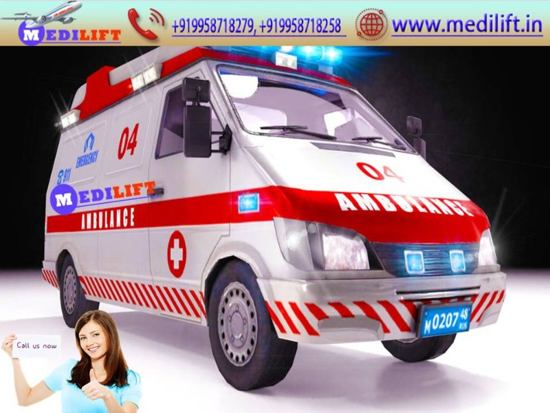 The Best Ambulance Service in Pitampura at Low Fare in  listed under Services - Healthcare / Fitness