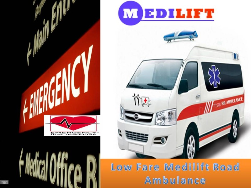 Get Advantage of an Emergency Ambulance Service in Vasant Kunj in  listed under Services - Healthcare / Fitness