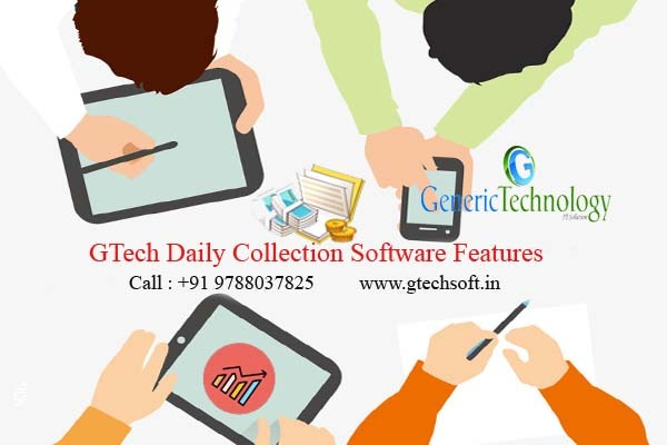GTech Daily Weekly Monthly Loan EMI Collection Software Features in  listed under Services - Computer / Web Services