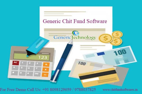 Generic Chit Fund Software Generic Chit in  listed under Services - Computer / Web Services