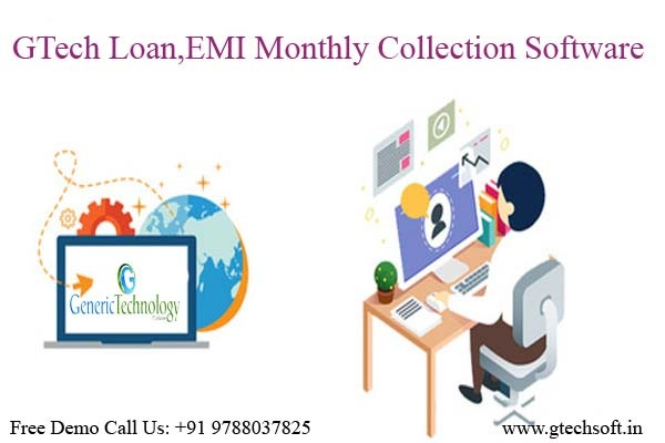 GTech Loan EMI Monthly Collection Software in  listed under Services - Computer / Web Services