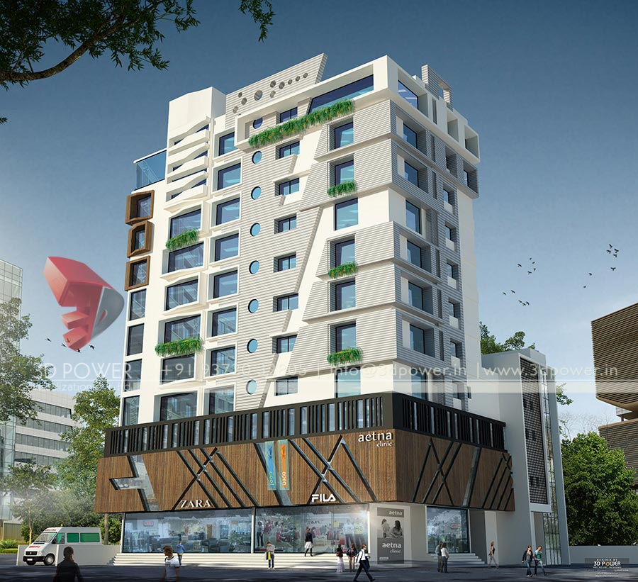 Beed 3D Architectural Rendering Services 42 in Chandigarh