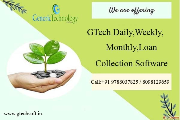 GTech Daily Weekly Monthly Loan Collection Software in  listed under Services - Computer / Web Services