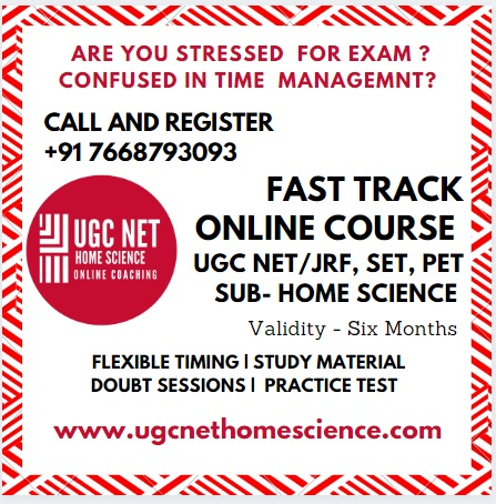 UGC NET/JRF Home Science Online Coaching in  listed under Education - Coaching / Tuitions