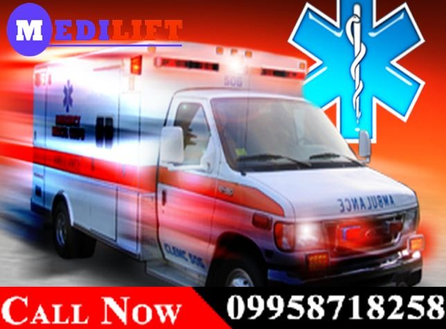 Medilift Road Ambulance in Kurji – Get Best ICU Facilities in  listed under Services - Healthcare / Fitness