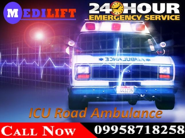Medilift Road Ambulance in Punaichak - Get Available 24 Hours Booking in  listed under Services - Healthcare / Fitness