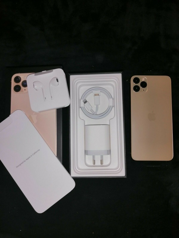 Apple iphone 11 pro-max 512gb gold........contact for price in  listed under Mobile - Mobile Phones