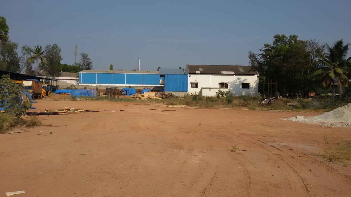 2 ACRES KIADB INDUSTRIAL PLOT WITH SHED FOR SALE @ BOMMASANDRA INDUSTRIAL AREA.