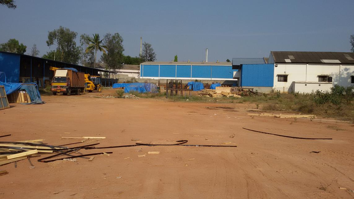 2 ACRES KIADB INDUSTRIAL PLOT WITH SHED FOR SALE @ BOMMASANDRA INDUSTRIAL AREA. in Bangalore