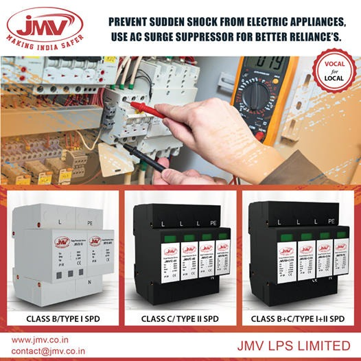 Use Surge Protection Device to Safe Building in Noida