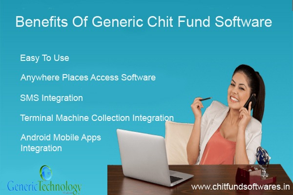 Benefits of Generic Chit Fund Software in  listed under Services - Computer / Web Services