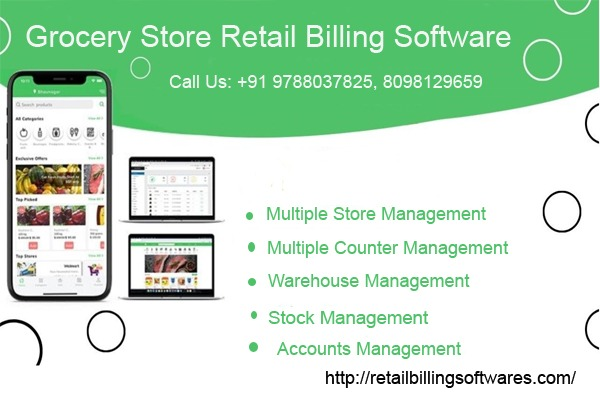 Gene Grocery Store Retail Billing Software in  listed under Services - Computer / Web Services