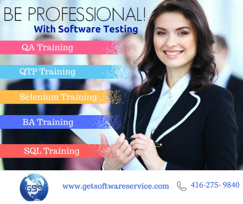 Online Software Testing Training in Toronto in  listed under Education - Training Centers