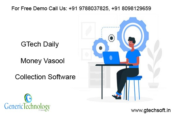 GTech Daily Money Vasool Collection software in  listed under Services - Computer / Web Services