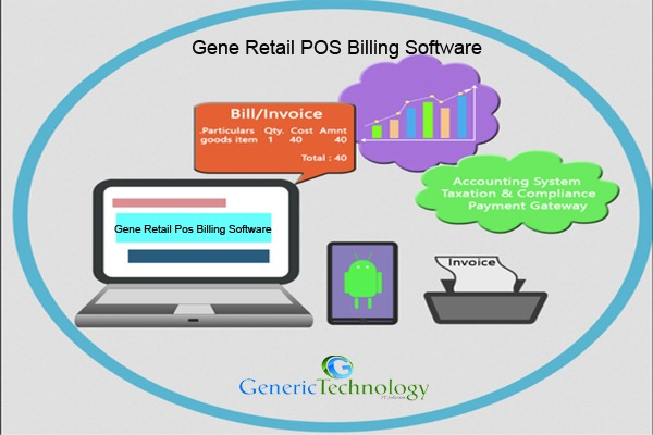 Gene Retail POS Billing Software Features in  listed under Services - Computer / Web Services