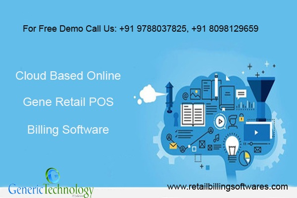 Cloud Based Gene Retail POS Billing Software in  listed under Services - Computer / Web Services