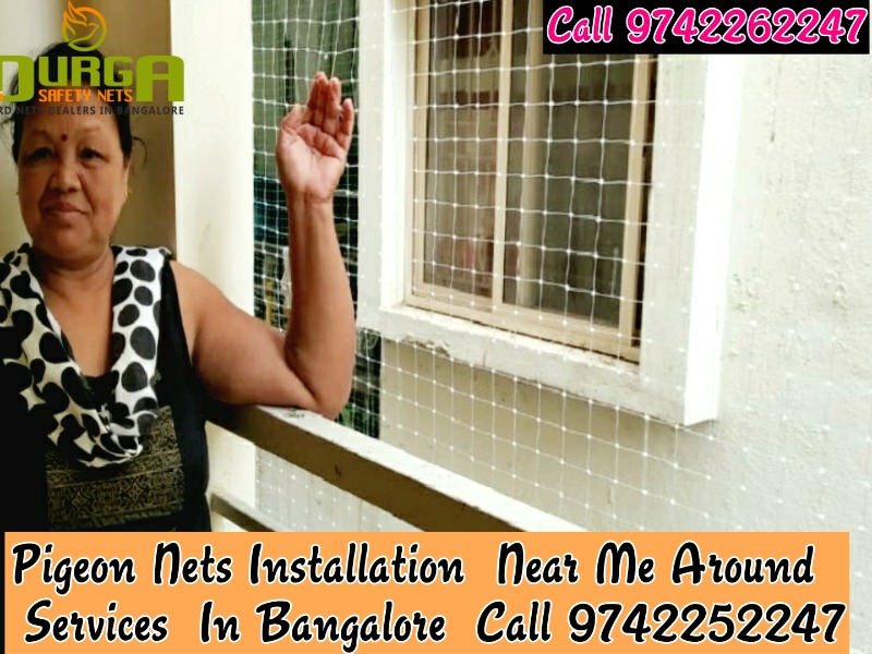 Durga Pigeon nets installation in bangalore in  listed under Services - Other