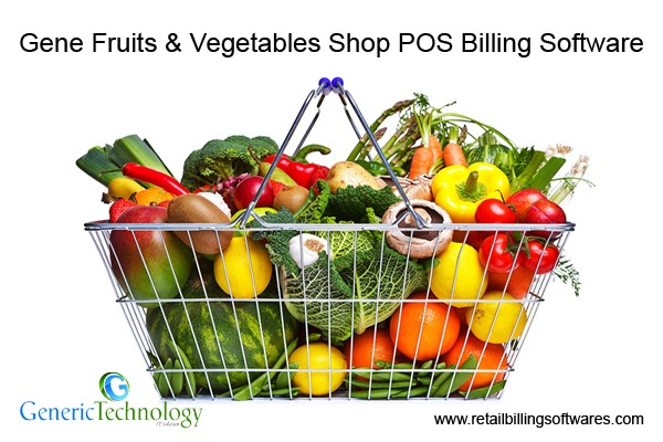 Gene Fruits Vegetables Shop Retail Billing POS Software in  listed under Services - Computer / Web Services
