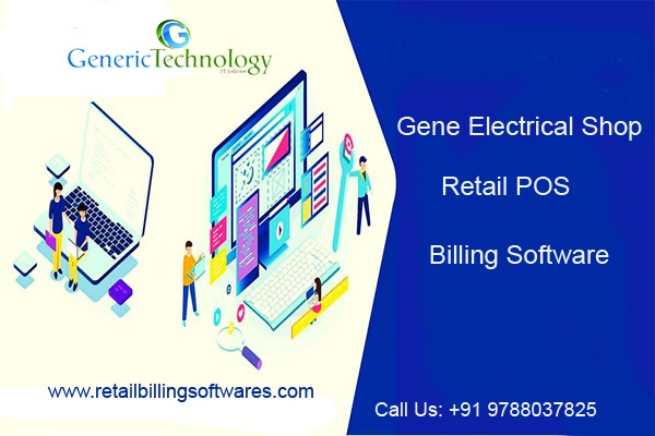 Gene Electrical Shop Retail POS Billing Software in  listed under Services - Computer / Web Services