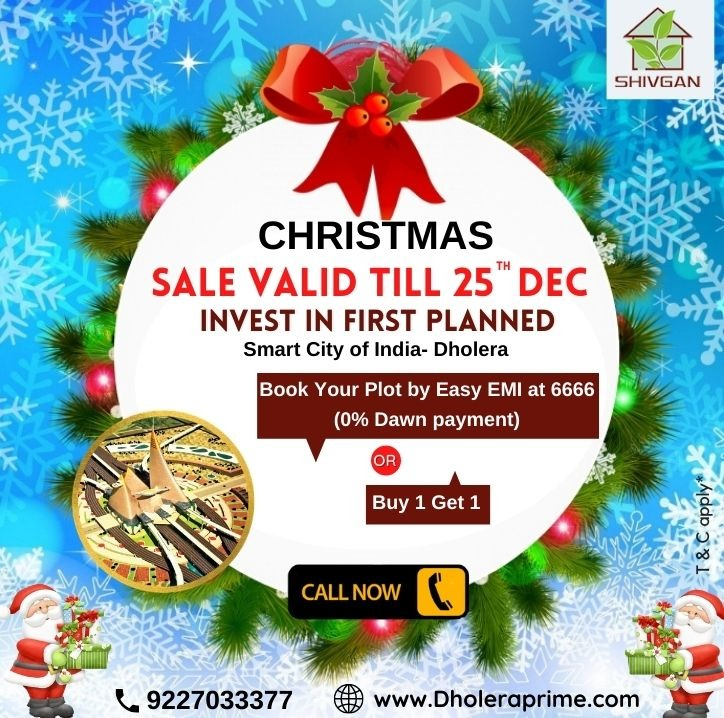 Invest in India's smart city craze | Get Residential Plot in Dholera in  listed under Real Estate - Land / Plots for Sale