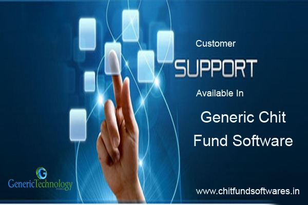 Customer Support Available In Generic Chit Fund Software in  listed under Services - Computer / Web Services
