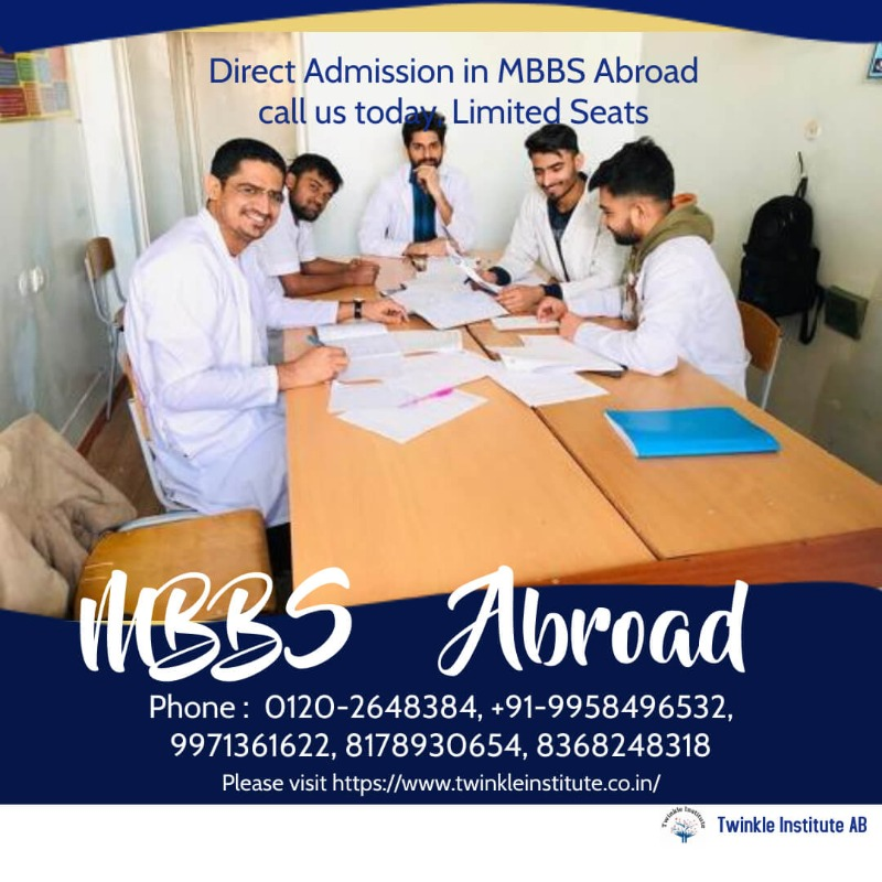 MBBS Russia 2021 Twinkle InstituteAB in  listed under Education - Career Counselling