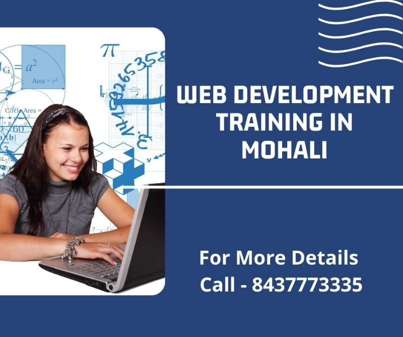 Web Development Training in Mohali in  listed under Education - Professional Courses
