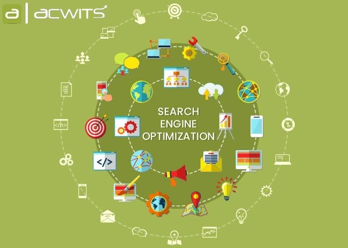 SEO Company in Delhi NCR, SEO Agency in Delhi - Acwits Solutions LLP in  listed under Services - Computer / Web Services