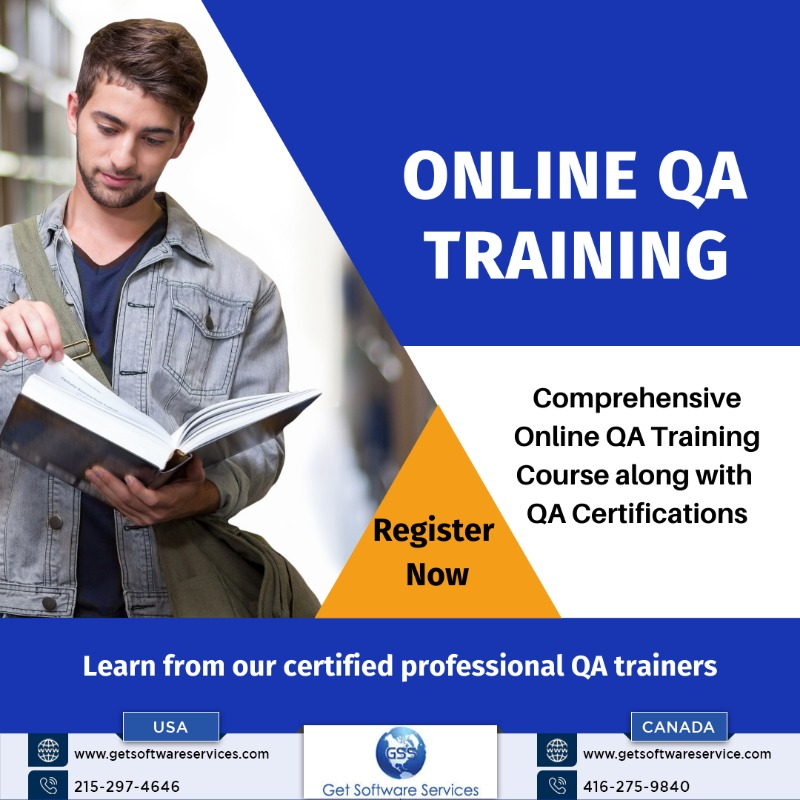 Online QA Training Course in the USA - Get Software Service in  listed under Education - Training Centers