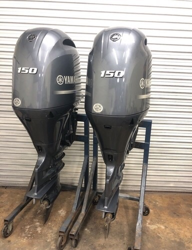 Used Yamaha 150 stroke boat engine in  listed under Cars n Bikes - Motor Service