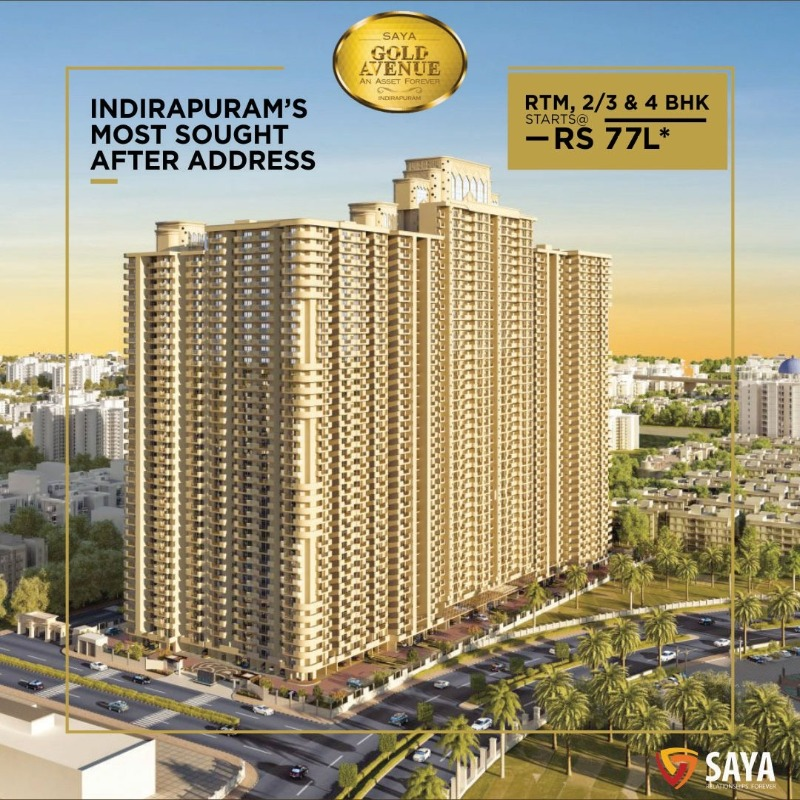 Luxurious residential apartments in Indirapuram, Ghaziabad in  listed under Real Estate - Appartments for Sale