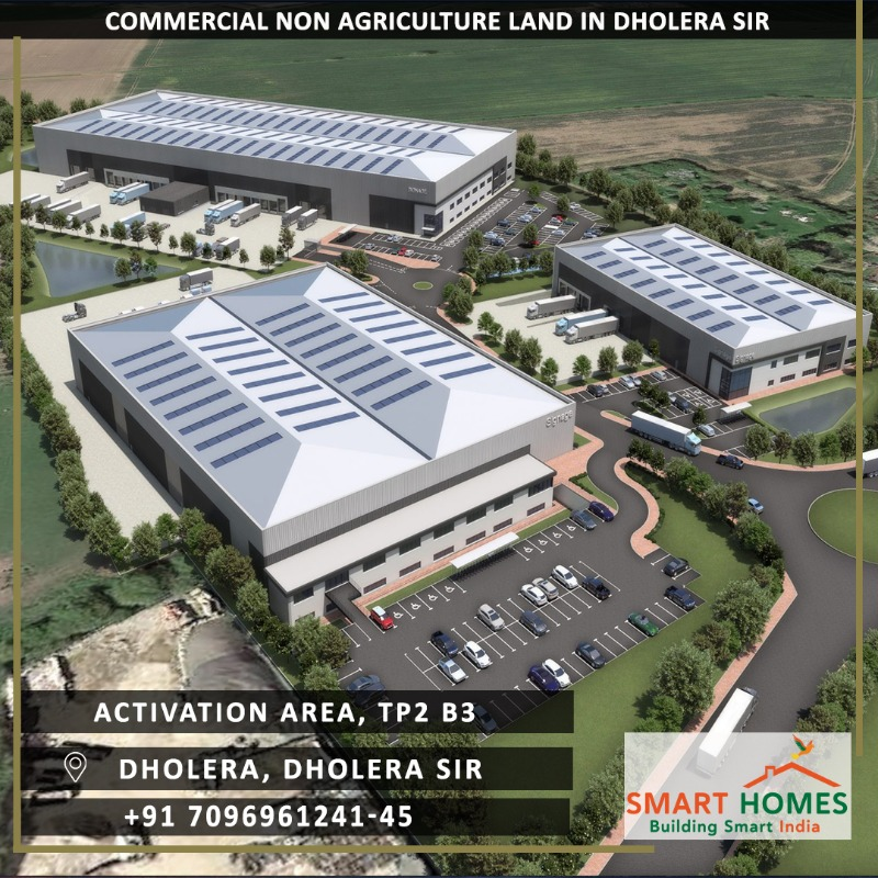 Commercial NA Land Dholera Activation Area TP2B3 On Ahmedabad Dholera Expressway in  listed under Real Estate - Land / Plots for Sale