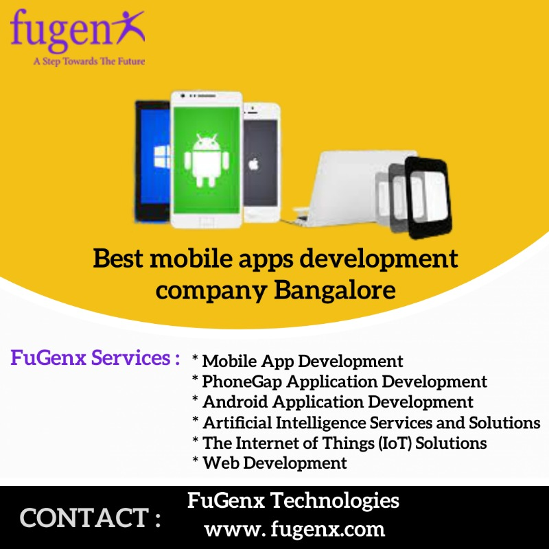 Mobile apps development companies Bangalore in  listed under Mobile - Mobile Phones