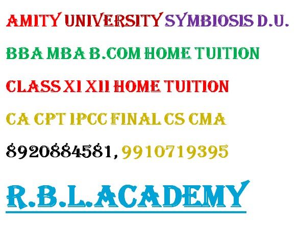 BBA MBA project help assignment help exam assistance tuition Amity BBA Bcom MBA project assignment  in  listed under Education - Coaching / Tuitions