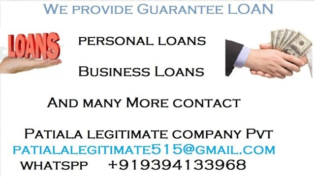 URGENT BUSINESS LOAN AND PERSONAL LOAN in  listed under Services - Loans / Insurance