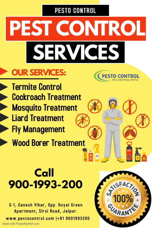 Save Your Home From Pest | Home Pest Control Service @ Low-Cost in  listed under Services - Plumber n Sanitation