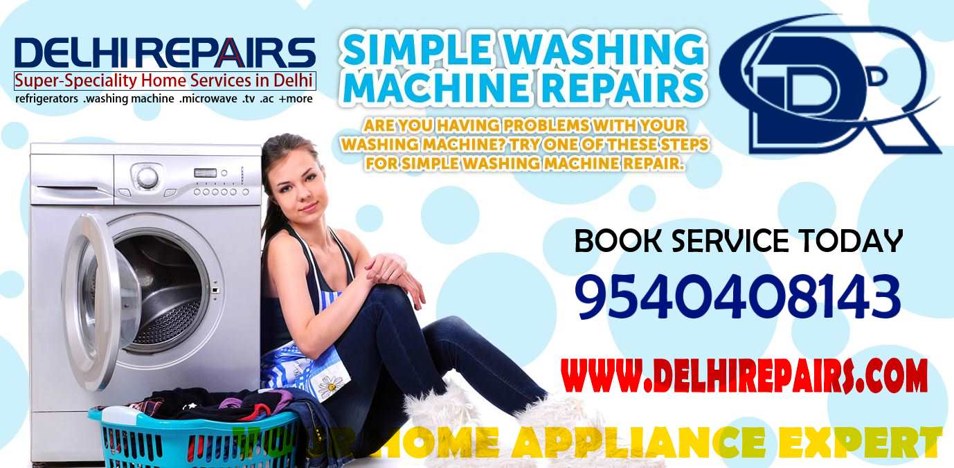 Washing Machine Repair in Noida, UP, India