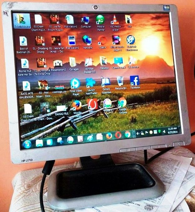 SECOND HAND COMPUTER LCD CCTV LCD MONITOR