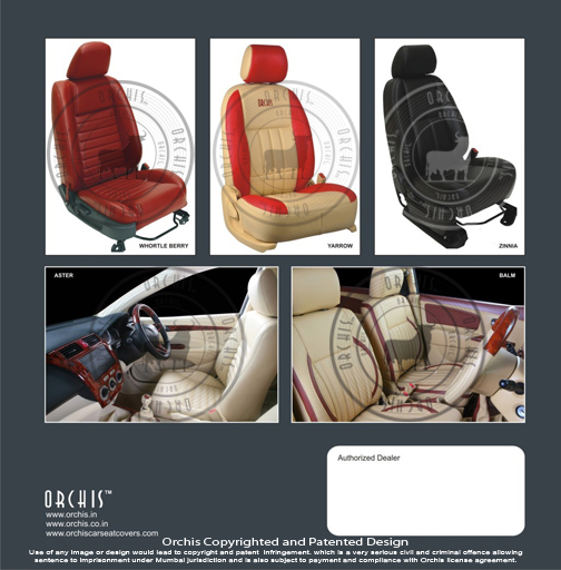Maruti Ertiga Celero Alto 800 A-star Wagon-R Estilo Ritz Swift Dzire Sx4 Car Leather Seat Covers Orchis