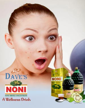 NONI USEFUL FOR SKIN PROBLEMS
