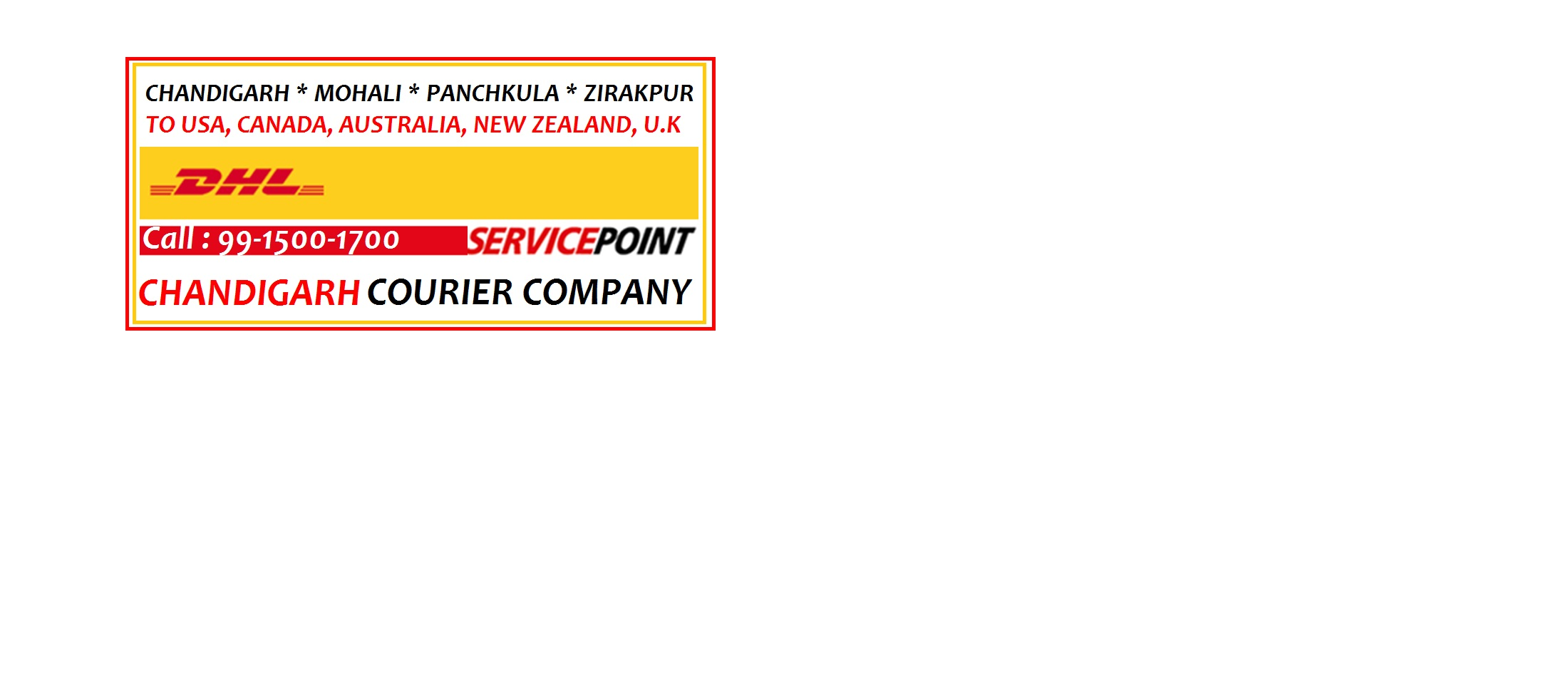 MOTOR CYLE/BIKE CARGO SHIPPING CHANDIGARH/PANCHKULA TO WORLDWIDE in  listed under Services - Courier Services